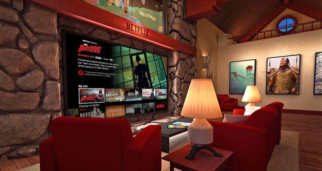 Regarder Netflix sur Oculus Go