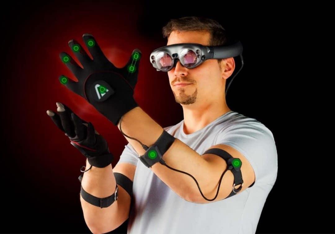 Meilleurs gants réalité virtuelle Avatar VR gants retour haptique