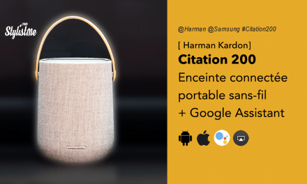 Citation 200 Harman Kardon enceinte portable sans-fil Google Assistant