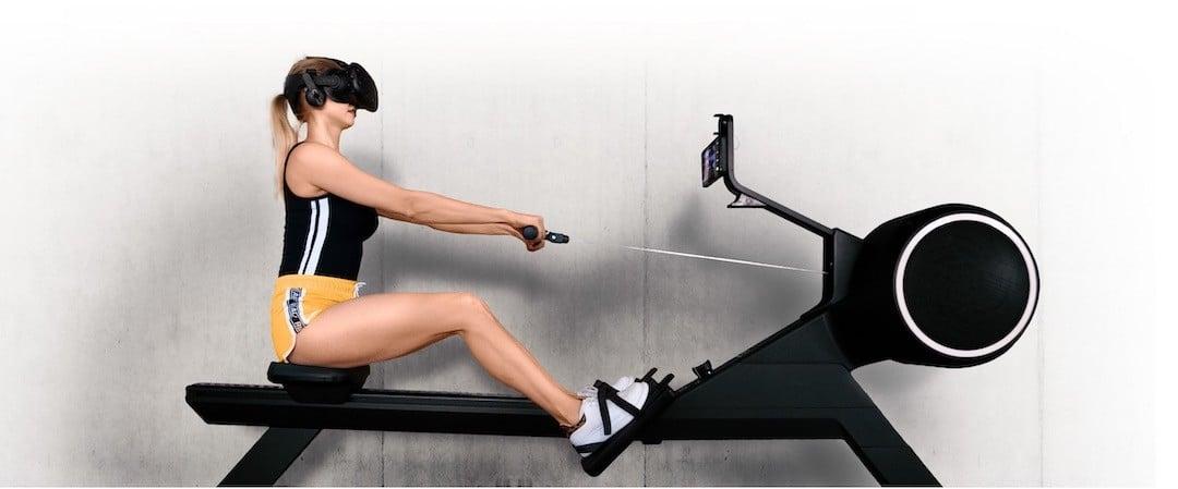 fitness vr rameur réalité virtuelle casque vr