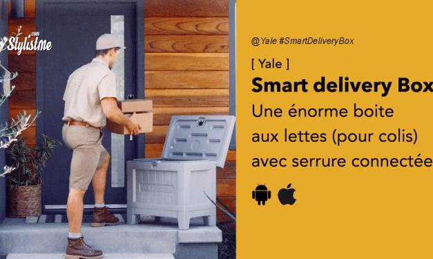Smart Delivery Box de Yale : boite aux lettres avec serrure connectée