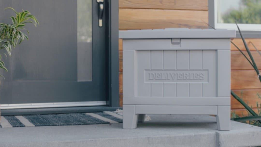 Smart Delivery Box boite aux lettres et colis avec serrure connectée