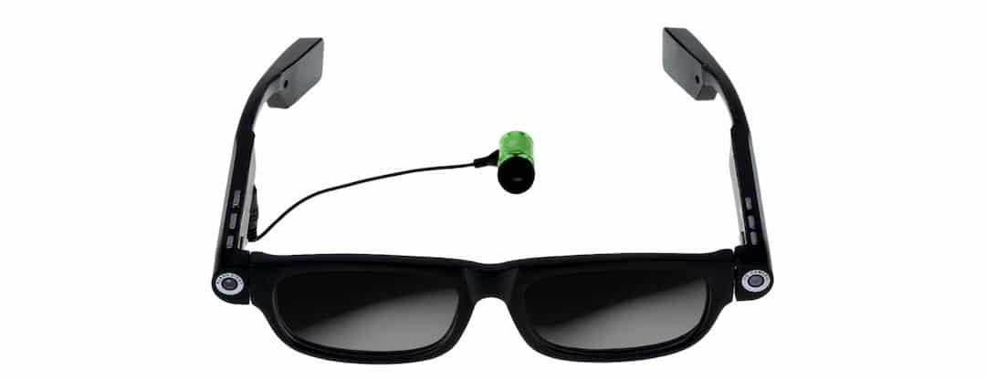 Theia lunettes connectees musique caméra