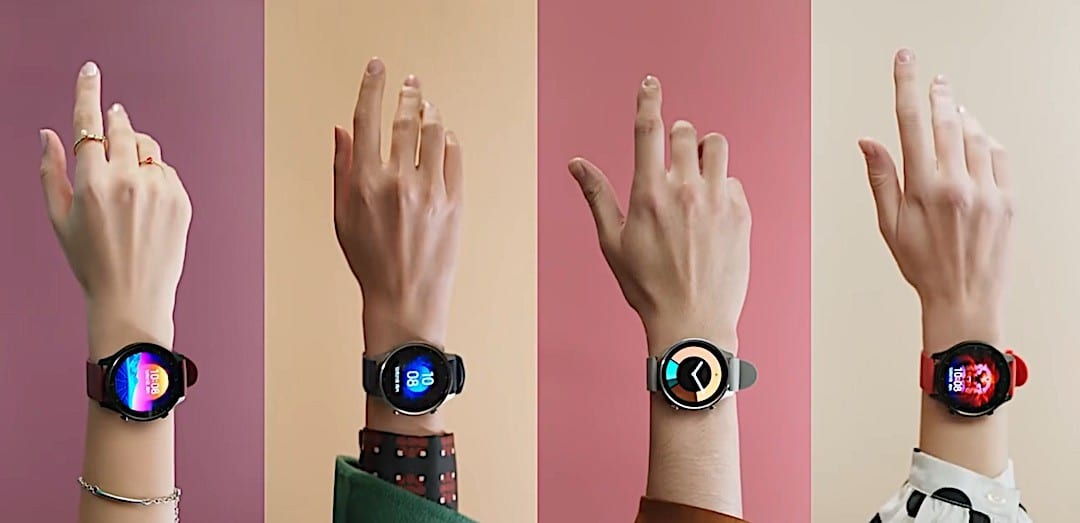 Xiaomi Mi Watch Color bracelet couleur