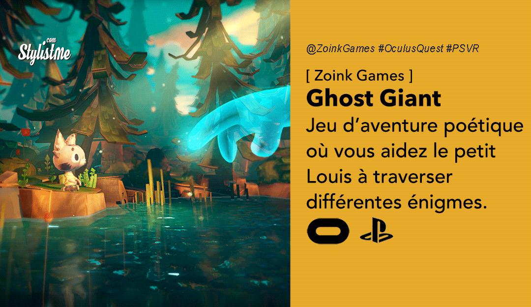Ghost Giant test avis prixdate sur Oculus Quest après la version PSVR