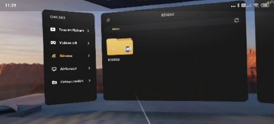 lire vidéo gratuite Oculus Quest avec Skybox Vr