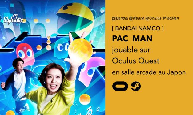 PAC MAN VR pour Oculus Quest : jouable à deux en réalité virtuelle