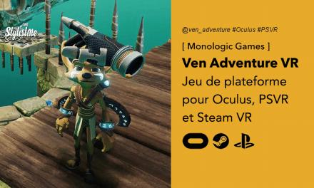 Ven VR Adventure superbe jeu de plateforme sur PSVR et Oculus