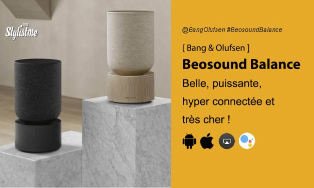 Beosound Balance l'enceinte Google Assistant haut de gamme Bang & Olufsen
