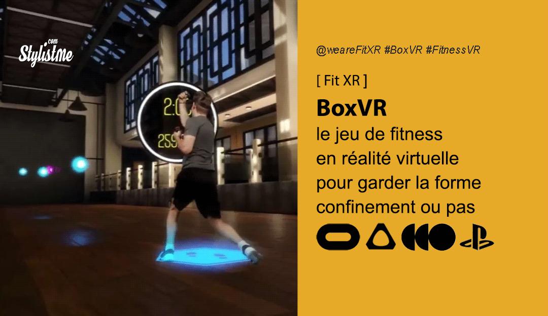 BoxVR test avis prix date jeu fitness boxe réalité virtuelle