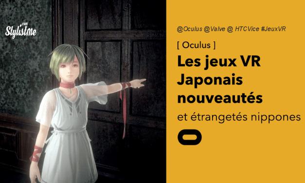 Jeux japonais en réalité virtuelle pour Oculus, Valve Index ou HTC Vive