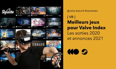 Meilleurs jeux Valve Index 2020 en réalité virtuelle les sorties sur Steam