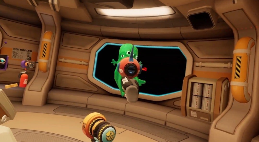 monstres aliens spaceteam VR