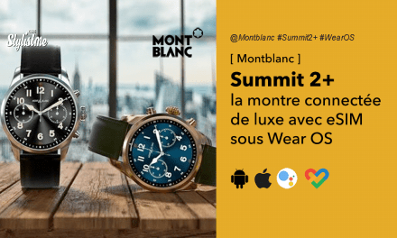 Montblanc Summit 2+ avis test prix montre connectée de luxe abordable