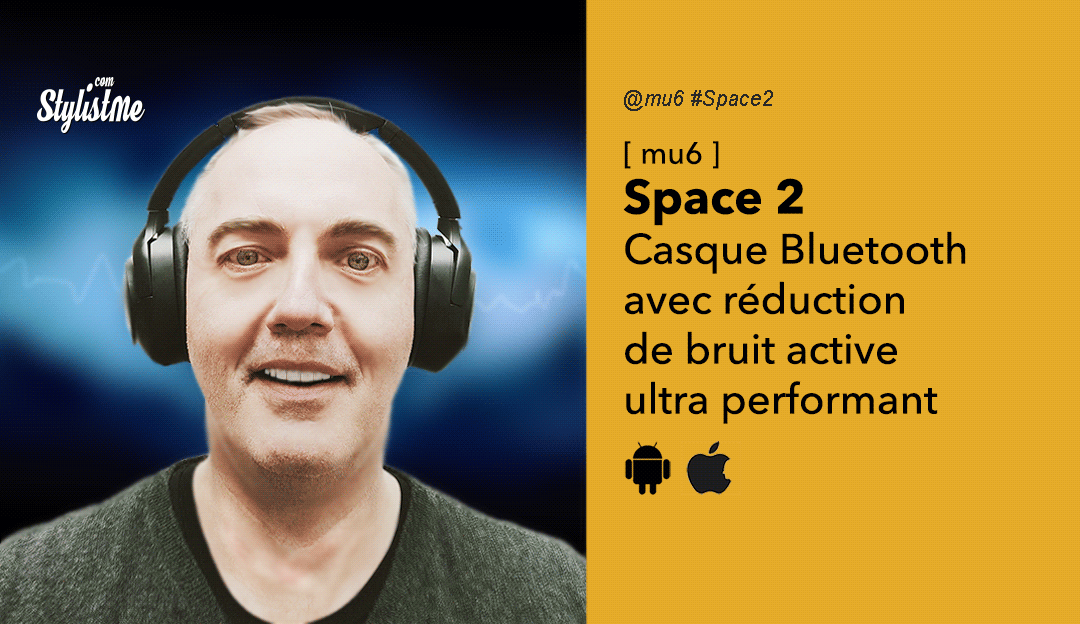 Mu6 Space 2 test casque Bluetooth filaire à super réduction de bruit