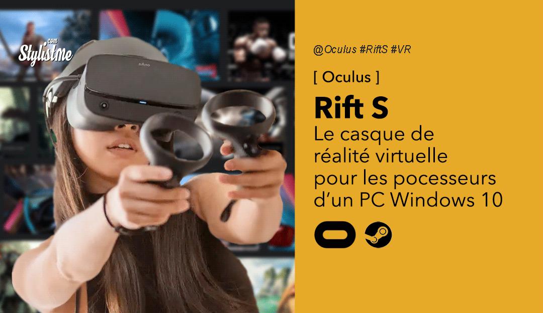 Oculus Rift S avis test prix jeux