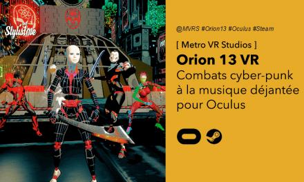 Orion 13 VR le FPS futuriste au style particulier électro-punk pour Oculus