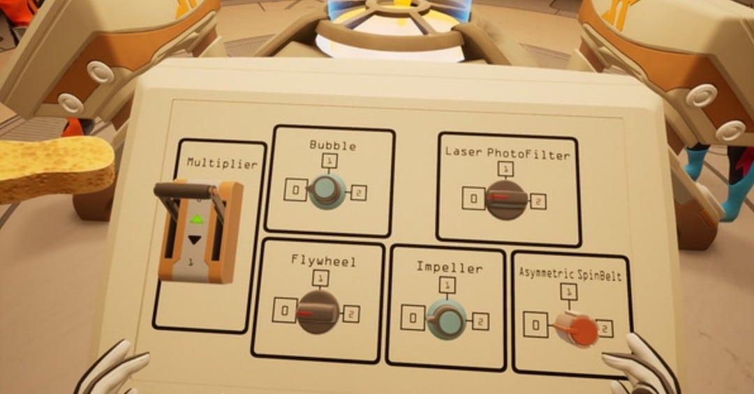 Spaceteam VR jeu énigmes coopératif