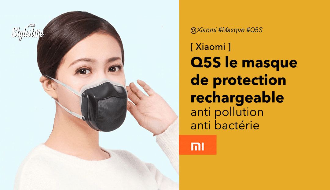 masque anti pollution usb