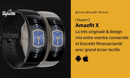 Amazfit X un mix entre montre connectée et bracelet fitness