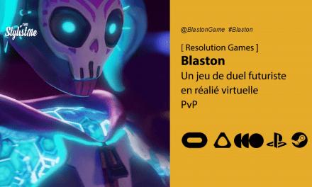 Blaston avis prix date test duels futuristes en réalité virtuelle PvP