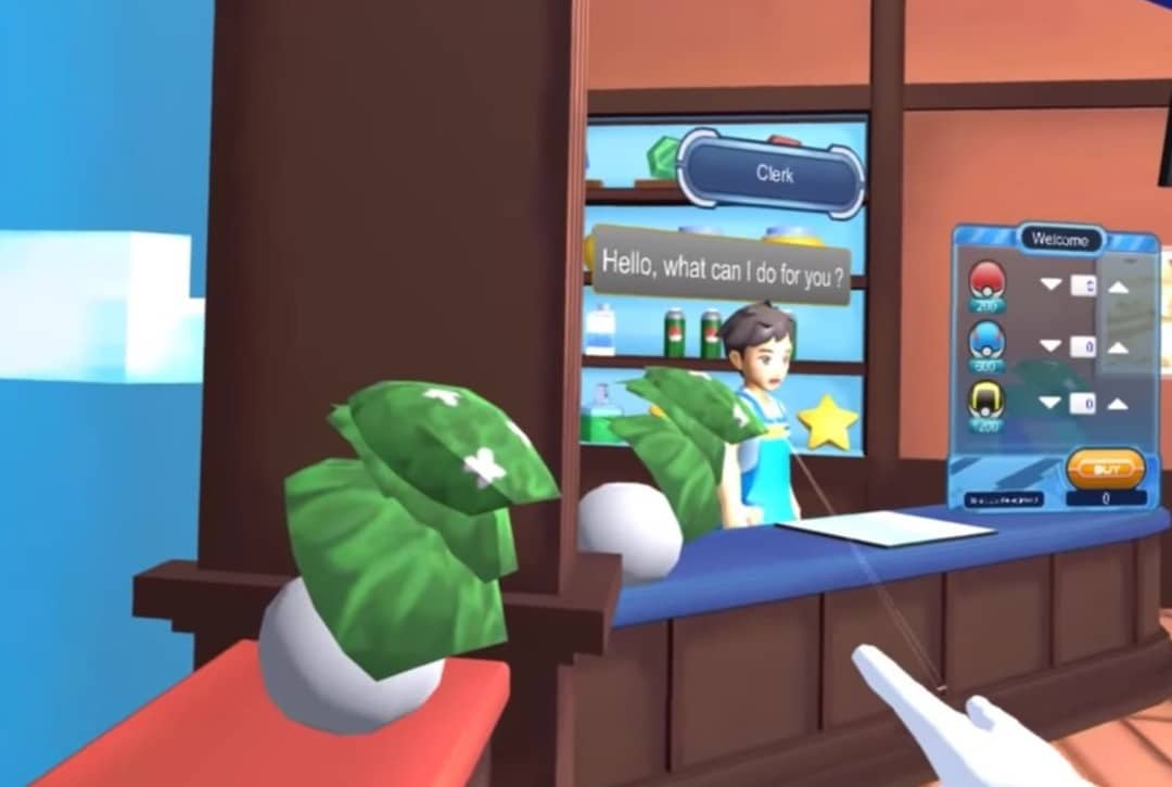 Pokemon VR réalité virtuelle acheter Pokeball