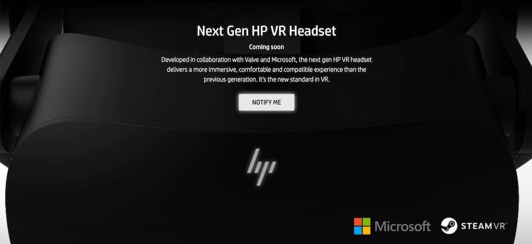 HP Reverb G2 date de sortie