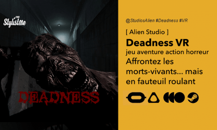 Deadness avis test prix date jeu d'horreur réalité virtuelle en fauteuil roulant