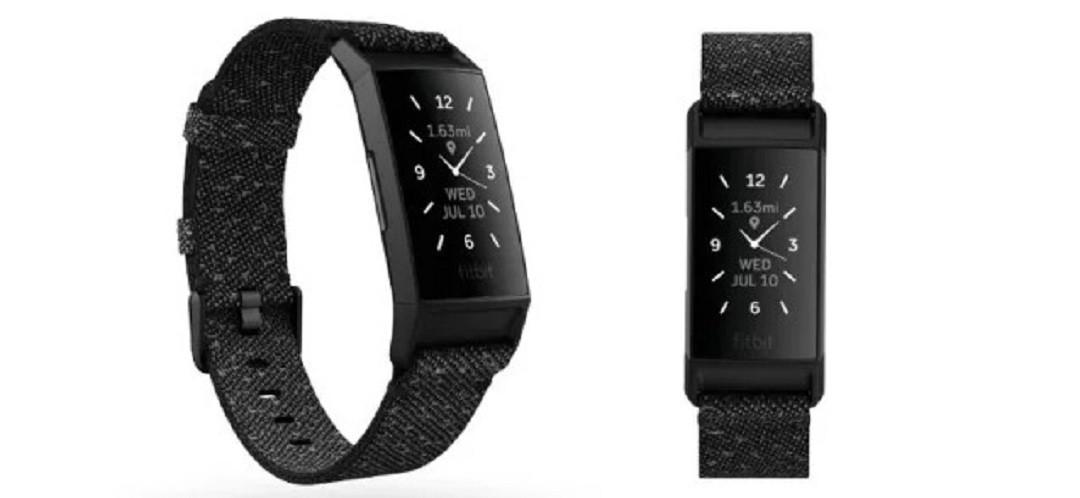 Fitbit Charge 4 nouveau bracelet réfléchissant