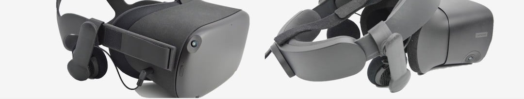 JBL OR300 installation sur Oculus Quest ou Rift S