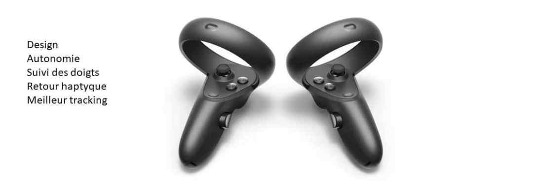 Oculus Quest 2 nouveau contrôleur Oculus Jedi