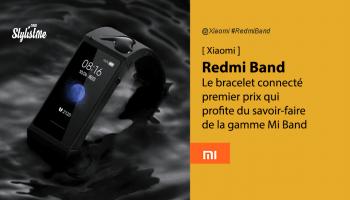 Redmi Band prix avis test date sortie Xiaomi bracelet connecté