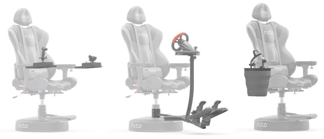 Roto VR accessoires fauteuil réalité virtuelle