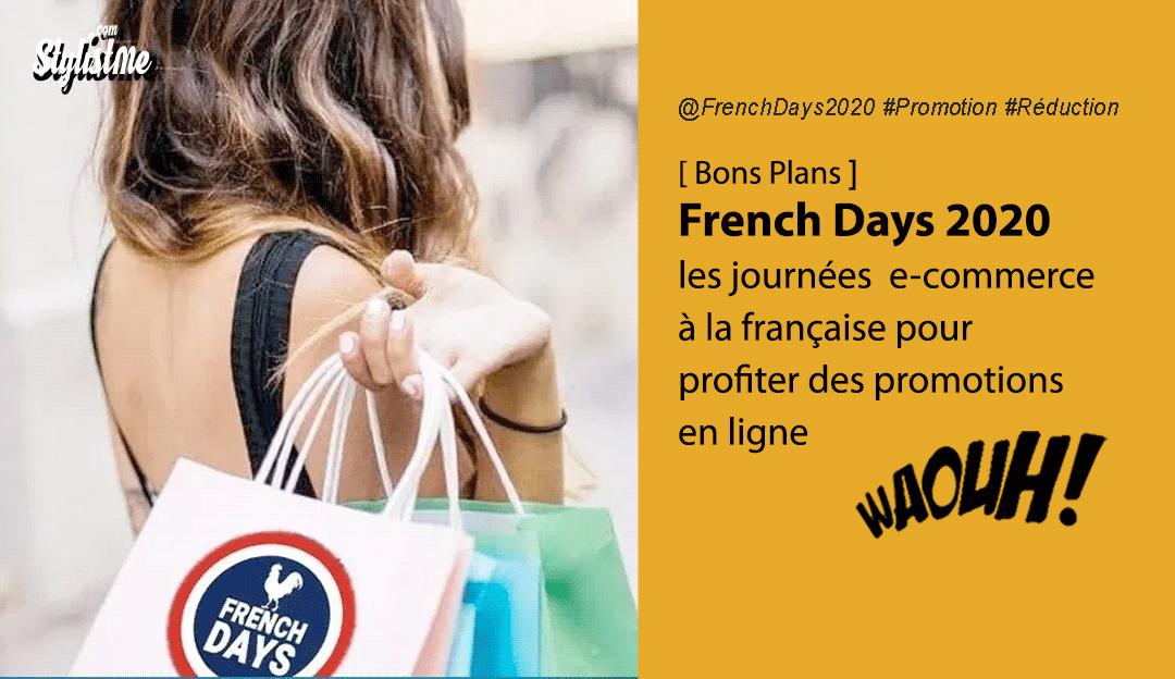 French Days 2020 meilleures promotions en ligne mai juin