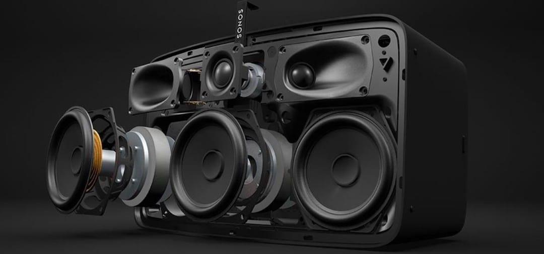 Sonos FIve basse profonde voix claires qualité audio