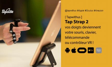 TAP Strap 2 vos doigts deviennent un clavier portable ou un contrôleur VR
