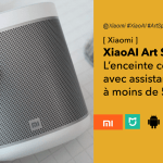 Xiaomi XiaoAI Art Speaker enceinte connectée avec assistant vocal XiaoAI