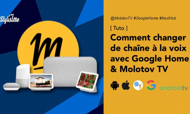 Commande vocale Google assistant et Molotov Tv (tuto)
