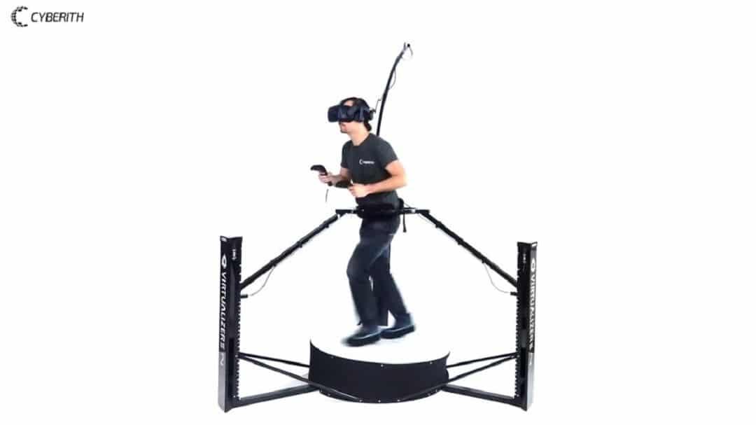 Cyberith Virtualizer Elite 2 prix avis Comparatif des tapis roulants pour casques en réalité virtuelle