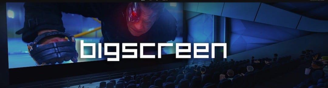 Lecteur vidéo film 3D oculus Bigsreen