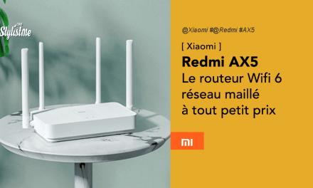 Redmi AX5 routeur réseau maillé en Wifi 6 à tout petit prix (Xiaomi)