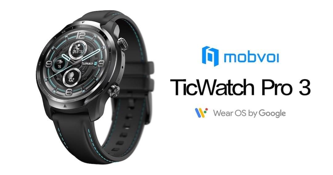 Ticwatch Pro 3 Wear Os 4100 Mobvoi