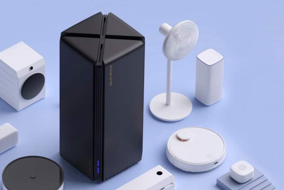 Routeur Xiaomi AX1800 128 appareils connectes