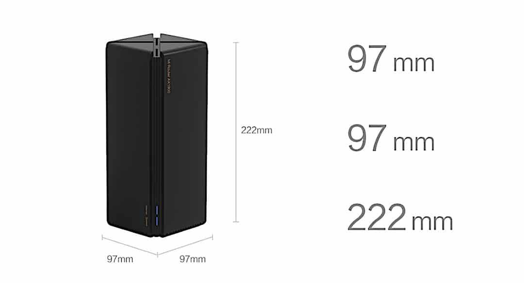 Xiaomi AX1800 Wifi 6 5G test