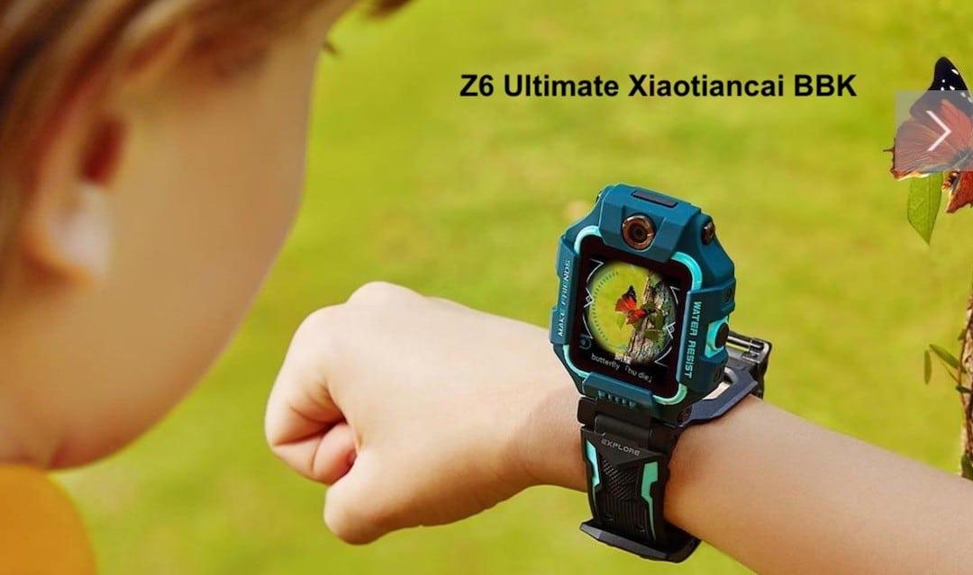 Z6 Ultimate Xiaotiancai wath phone Wear 4100 BBK