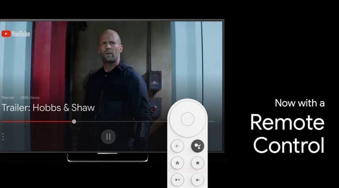 télécommande Chromecast 4 Sabrina