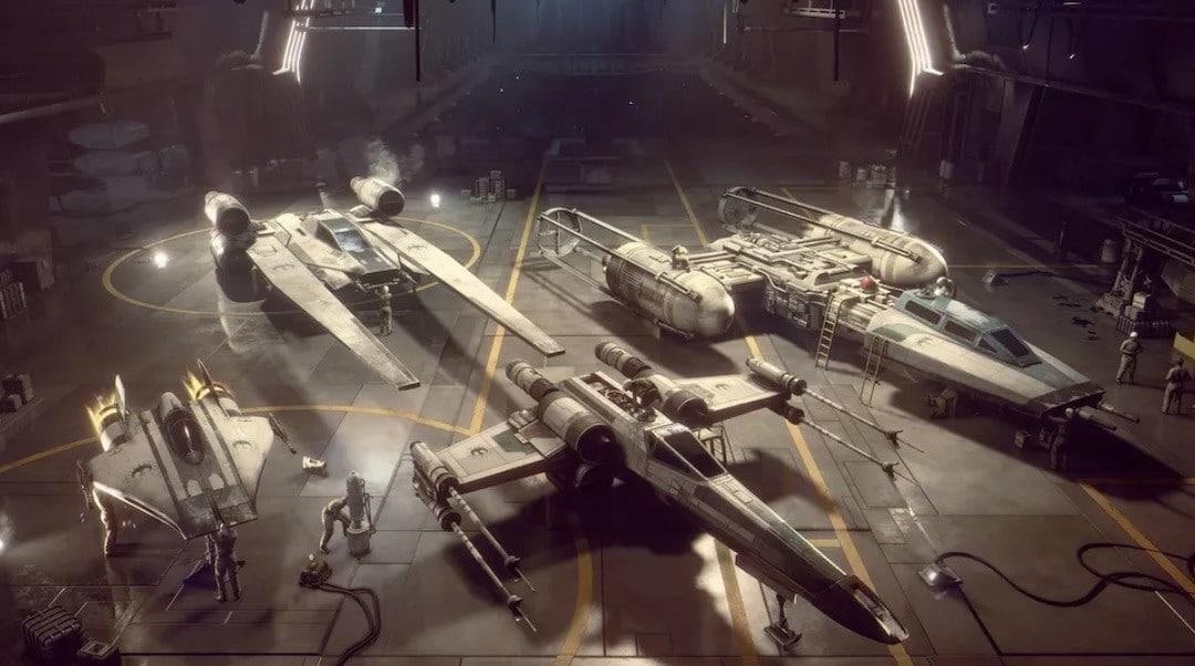 Choix vaisseaux Star Wars Squadrons