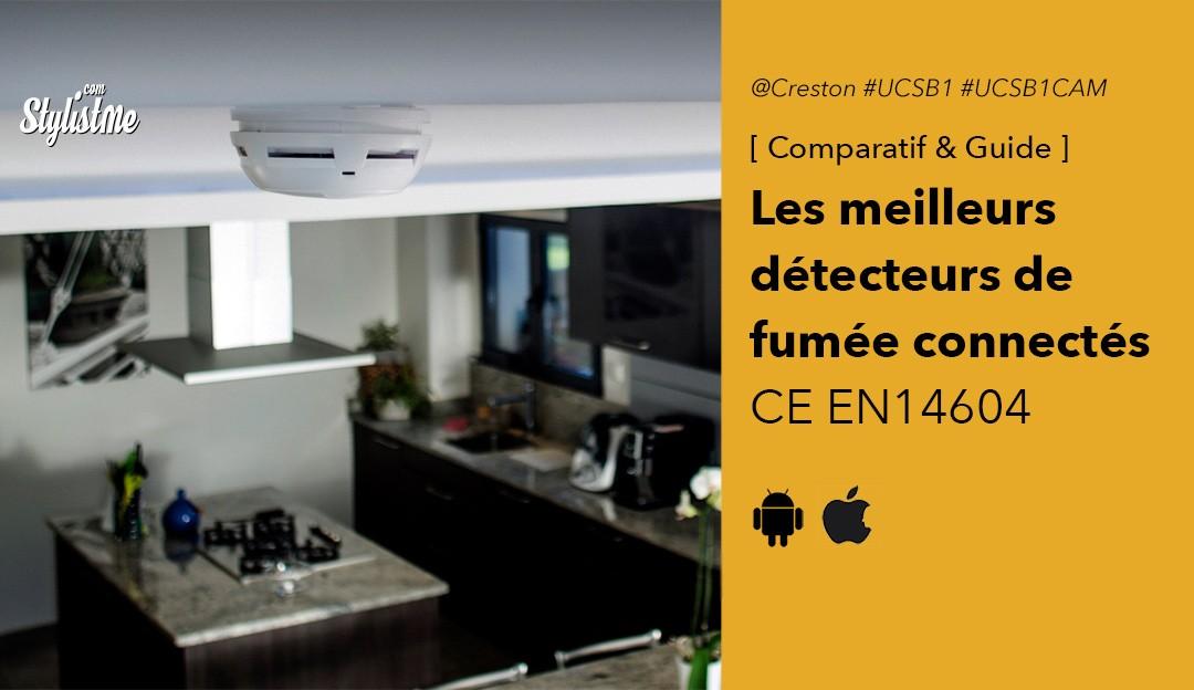 Comparatif détecteur de fumée connecté
