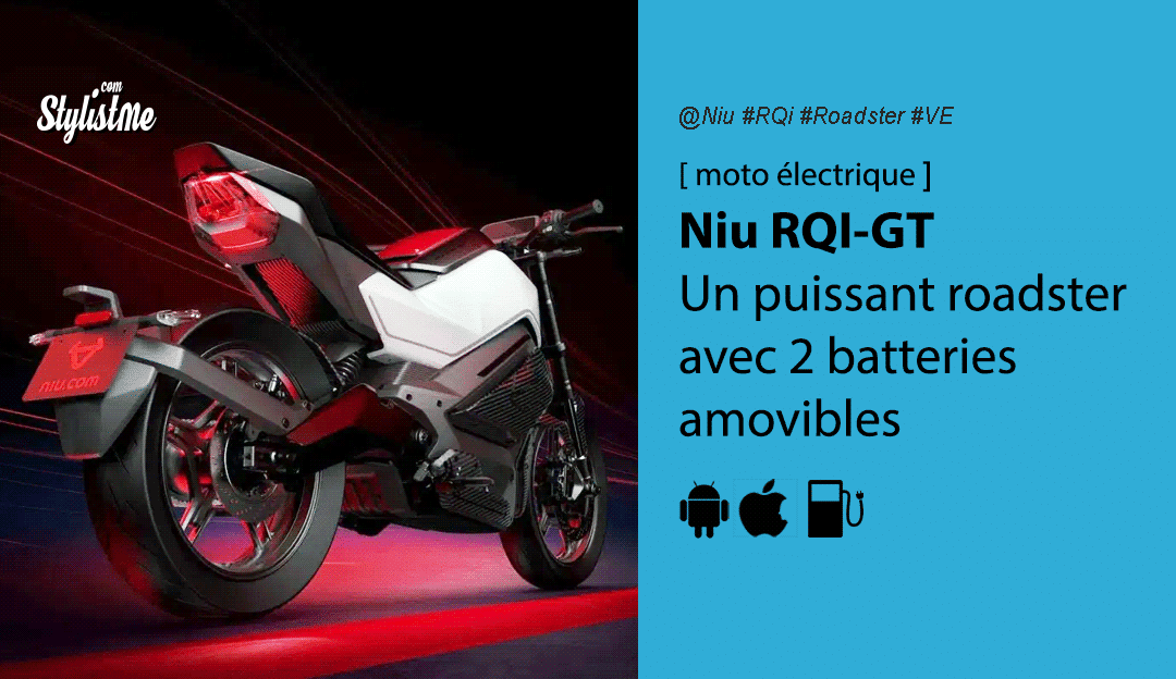 Niu RQi GT avis prix test moto électrique