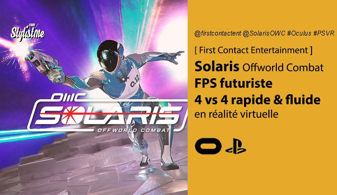 Solaris Offworld Combat avis prix test date FPS VR